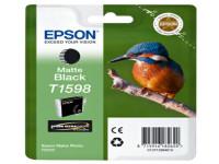 Original Tintenpatrone schwarz matt Epson C13T15984010/T1598 schwarzmatte