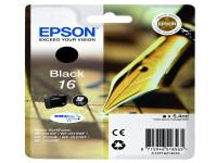 Original Tintenpatrone schwarz Epson C13T16214010/16 schwarz
