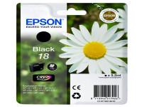 Original Tintenpatrone schwarz Epson C13T18014010/18 schwarz