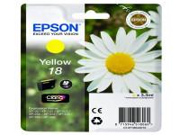 Original Tintenpatrone gelb Epson C13T18044010/18 gelb