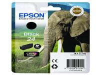 Original Tintenpatrone schwarz Epson C13T24214010/24 schwarz