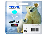 Original Tintenpatrone cyan Epson C13T26124012/26 cyan