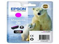 Original Tintenpatrone magenta Epson C13T26134010/26 magenta