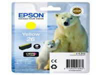Original Tintenpatrone gelb Epson C13T26144012/26 gelb