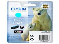 Original Tintenpatrone cyan Epson C13T26324012/26XL cyan