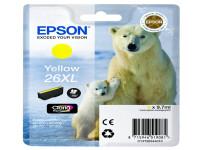 Original Tintenpatrone gelb Epson C13T26344010/26XL gelb