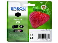 Original Tintenpatrone schwarz Epson C13T29814012/29 schwarz
