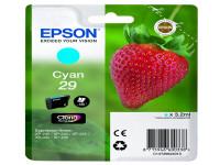 Original Tintenpatrone cyan Epson C13T29824010/29 cyan