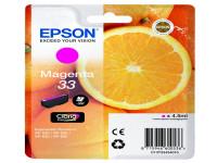 Original Tintenpatrone magenta Epson C13T33434012/33 magenta