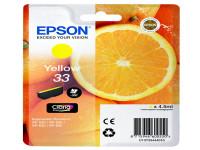 Original Tintenpatrone gelb Epson C13T33444010/33 gelb