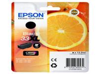 Original Tintenpatrone schwarz Epson C13T33514010/33XL schwarz