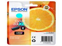 Original Tintenpatrone cyan Epson C13T33624012/33XL cyan