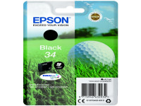 Original Tintenpatrone schwarz Epson C13T34614010/34 schwarz