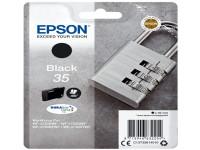 Original Tintenpatrone schwarz Epson C13T35814010/35 schwarz