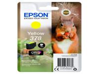 Original Tintenpatrone Epson C13T37844010/378 gelb