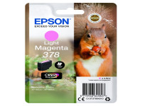 Original Tintenpatrone Epson C13T37864010/378 photomagenta