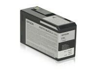 Original Tintenpatrone schwarz Epson C13T580100/T5801 schwarz foto