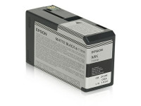Original Tintenpatrone schwarz matt Epson C13T580800/T5808 schwarzmatte