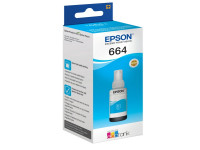 Original Tintenflasche cyan Epson C13T664240/664 cyan