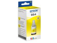 Original Tintenflasche gelb Epson C13T664440/664 gelb