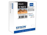 Original Tintenpatrone schwarz Epson C13T70114010/T7011 schwarz