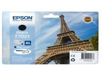 Original Tintenpatrone schwarz Epson C13T70214010/T7021 schwarz