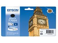 Original Tintenpatrone schwarz Epson C13T70314010/T7031 schwarz