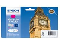 Original Tintenpatrone magenta Epson C13T70334010/T7033 magenta