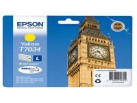 Original Tintenpatrone gelb Epson C13T70344010/T7034 gelb