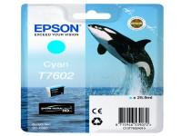 Original Tintenpatrone cyan Epson C13T76024010/T7602 cyan