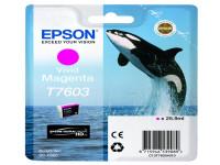 Original Tintenpatrone magenta Epson C13T76034010/T7603 magenta
