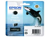 Original Tintenpatrone schwarz matt Epson C13T76084010/T7608 schwarzmatte