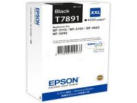 Original Tintenpatrone schwarz Epson C13T789140/T7891 schwarz