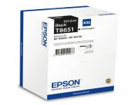 Original Tintenpatrone schwarz Epson C13T865140/T8651 schwarz