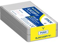 Original Tintenpatrone gelb Epson C33S020604/SJI-C-22-P-(Y) gelb