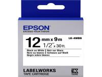 Original Farbband Epson C53S654021/LK-4WBN schwarz weiß