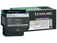 Original Toner schwarz Lexmark C540A1KG schwarz