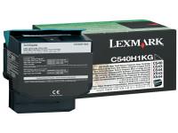 Original Toner schwarz Lexmark C540H1KG schwarz