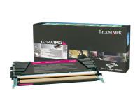 Original Toner magenta Lexmark C734A1MG magenta