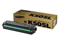 Original Toner schwarz Samsung CLTK505LELS/K505L schwarz