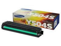 Original Toner gelb Samsung CLTY504SELS/Y504 gelb