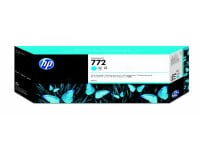 Original Tintenpatrone cyan HP CN636A/772 cyan