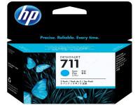Original Tintenpatrone cyan HP CZ134A/711 cyan