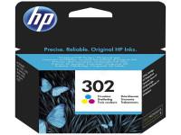 Original Tintenpatrone color HP F6U65AE/302 color