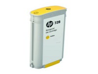 Original Tintenpatrone gelb HP F9J65A/728 gelb