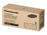 Original Toner schwarz Panasonic KXFAT410X schwarz