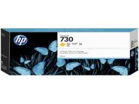 Original Tintenpatrone HP P2V70A/730 gelb