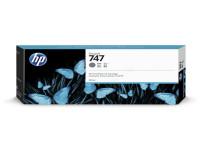 Original Tintenpatrone HP P2V86A/747 grau