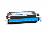 Alternativ-Toner fuer HP 642A / CB401A cyan