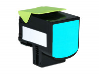 Bild fuer den Artikel TC-LEX310cy: Alternativ Toner LEXMARK 800S2 802SC 80C0S20 80C2SC0 in cyan